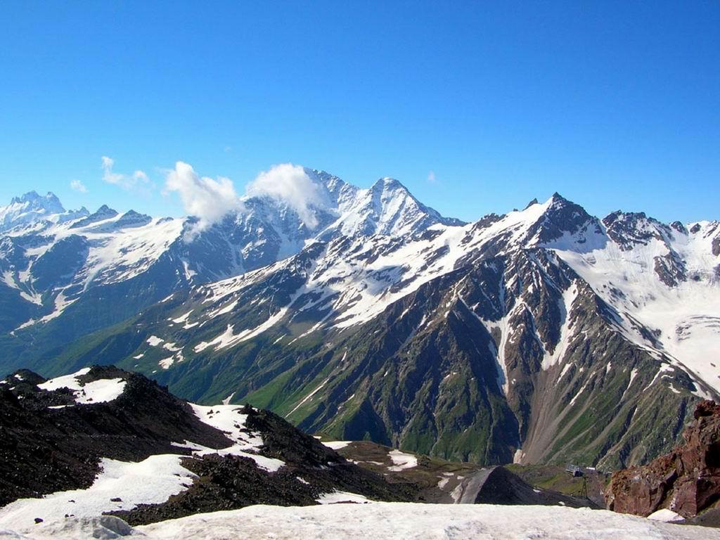 Кавказские горы являются одной из